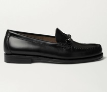 Weejuns Heritage Lincoln Horsebit Leather Loafers
