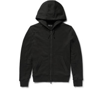 Fleming Loopback Cotton-jersey Zip-up Hoodie