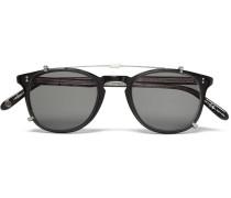 Kinney Acetate Optical Glasses With Clip-on Uv Lense