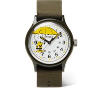 + Peanuts MK1 36mm Resin and NATO Watch