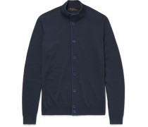 Wool, Silk And Cashmere-blend Cardigan