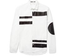 Sheehan Slim-fit Coated Cotton-poplin Shirt