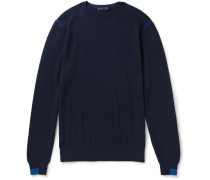 Cotton And Cashmere-blend Sweater