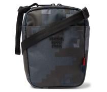 Cruz Camouflage-Print Sailcloth Messenger Bag