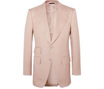 Atticus Slim-Fit Silk Suit Jacket