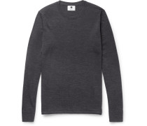 New Anthony Slim-fit Mélange Wool Sweater