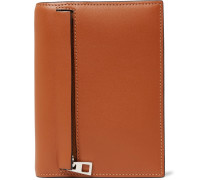 Zipped Leather Bifold Wallet
