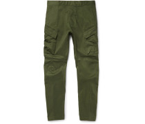 Nikelab Acg Tapered Stretch-cotton Cargo Trousers