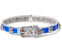 Enamelled Sterling Silver Bracelet