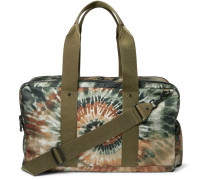 Studded Tie-dyed Canvas Holdall