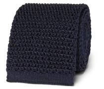 7.5cm Knitted Silk Tie