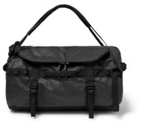 Base Camp Small Coated-canvas Duffle Bag - Black