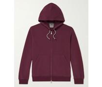 Loopback Cashmere Zip-Up Hoodie