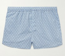Nelson Printed Cotton Boxer Shorts