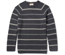 Vladimir Striped Cotton-blend Sweater
