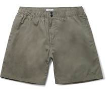 Trent Mid-length Cotton-canvas Swim Shorts