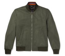 Wool And Cashmere-blend Bomber Jacket