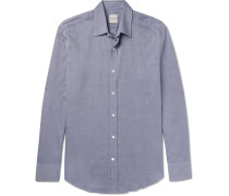 Slim-fit Cotton-twill Shirt