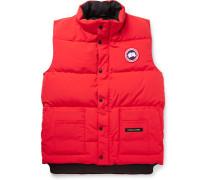 Freestyle Quilted Shell Down Gilet