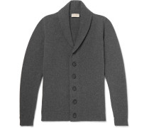 Shawl-collar Wool And Cashmere-blend Cardigan
