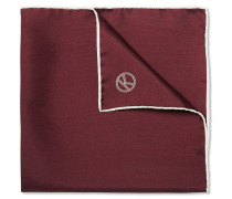 + Drake's Wool And Silk-blend Pocket Square