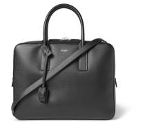 Museum Pebble-grain Leather Briefcase