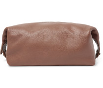 Full-grain Leather Wash Bag