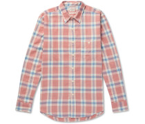 Seaview Checked Cotton-flannel Shirt