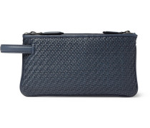 Pelle Tessuta Leather Pouch