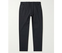 Valentin Tapered Stretch Cotton-Blend Trousers