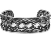 Burnished Silver-tone Cuff