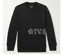 Logo-Print Cotton-Jersey Sweatshirt