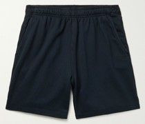 Fleece-Back Supima Cotton-Jersey Shorts