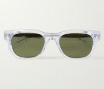 9772 Square-Frame Acetate Sunglasses
