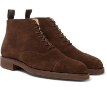 William Cap-toe Suede Boots