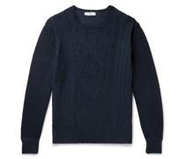 Organic Pima Cotton Aran Sweater