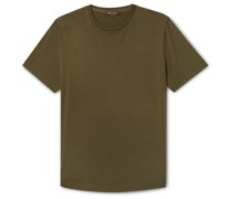Slim-Fit Silk and Cotton-Blend Jersey T-Shirt