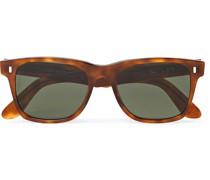 Jambo Square-Frame Tortoiseshell Acetate Sunglasses