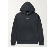 Franklin Oversized Logo-Print Fleece-Back Cotton-Jersey Hoodie