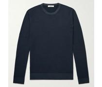Garment-Dyed Merino Wool Sweater