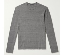 Slim-Fit Recycled Cotton Sweater