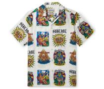 + Sublime Camp-Collar Printed Woven Shirt