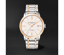 Classima Automatic 40mm Stainless Steel and Rose Gold-Plated Watch, Ref. No. M0A10217