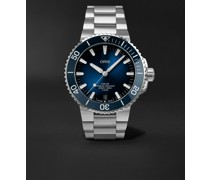 Aquis Date Calibre 400 Automatic 43.5mm Stainless Steel Watch, Ref. No. 01 400 7763 4135-07 8 24 09PEB