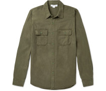 Lyocell and Cotton-Blend Shirt