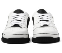 Tyson Two-tone Leather Sneakers