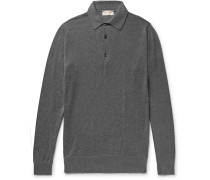 Lanlay Slim-Fit Cotton and Cashmere-Blend Polo Shirt