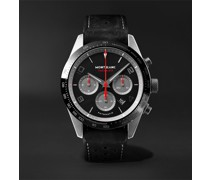 TimeWalker Limited Edition Automatic Chronograph 43mm Coated Stainless Steel, Ceramic and Nubuck Watch, Ref. No. 124073