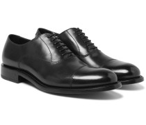 Algy Cap-toe Polished-leather Oxford Shoes
