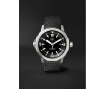 Aquatimer Automatic 42mm Stainless Steel and Rubber Watch, Ref. No. IW329001